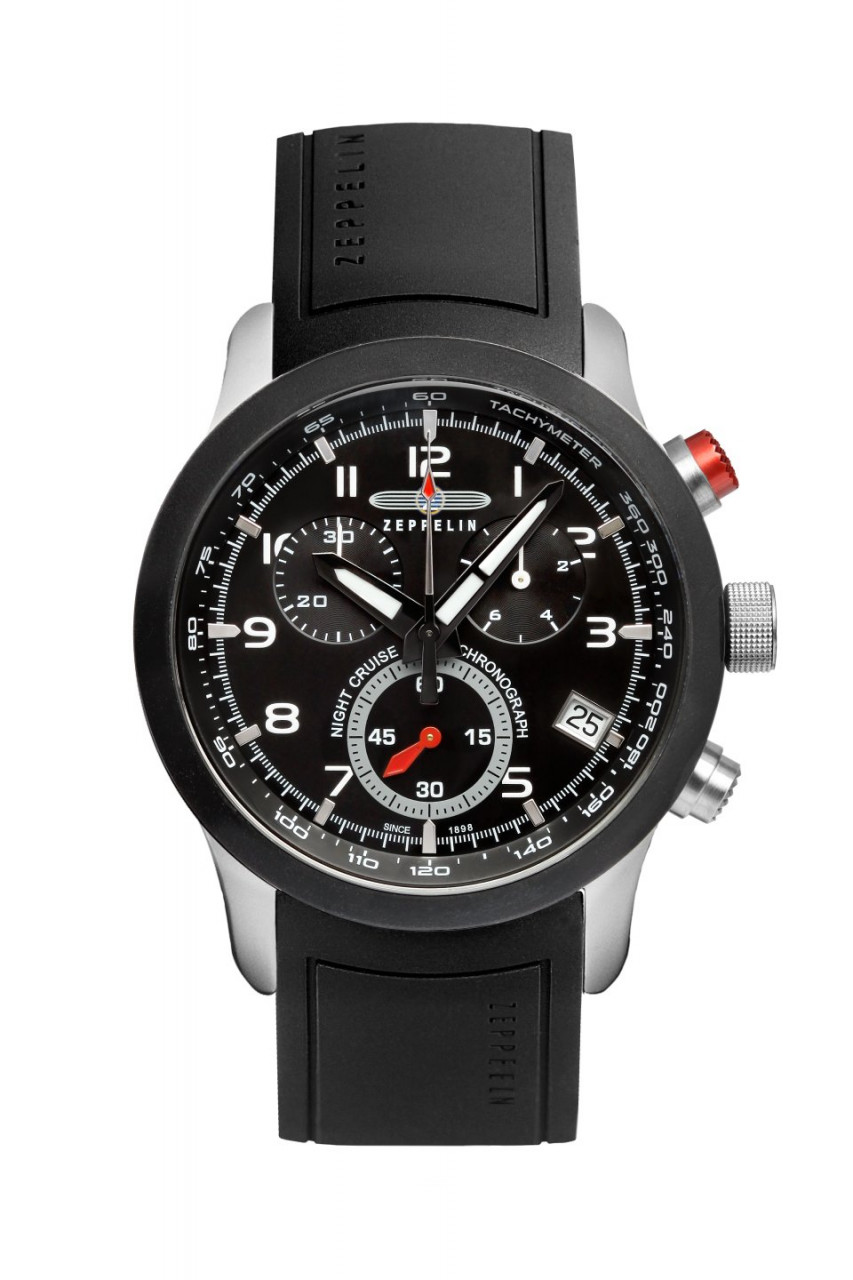 HAU, Zeppelin Night Cruise Chronograph Eta G10.211, Seelcase 10atm