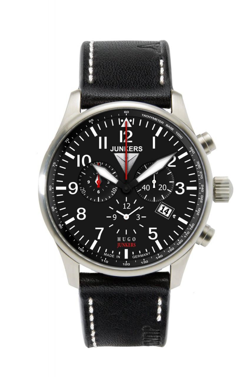HAU, Junkers Chronograph Ronda 5130.D 42mm, Steelcase 5atm, wr 5atm