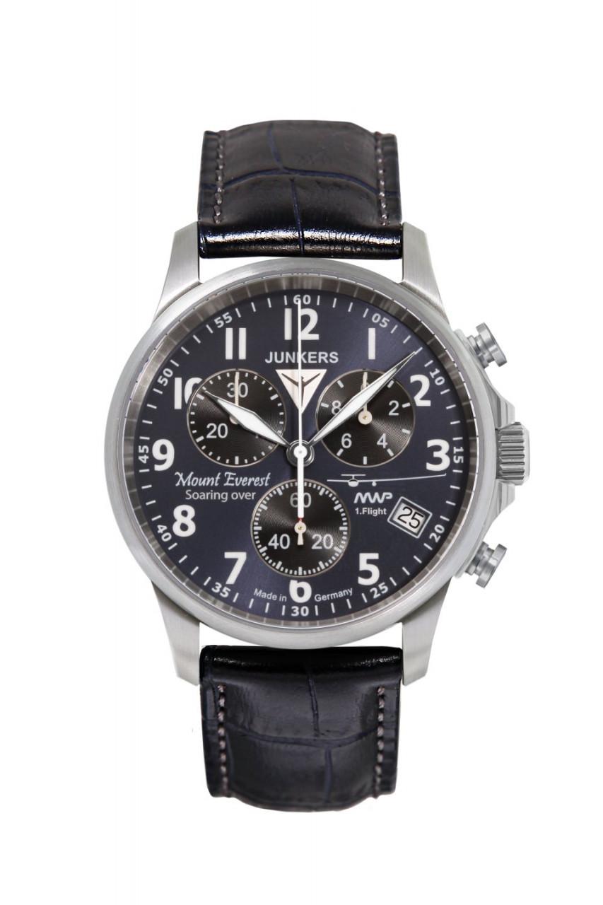 HAU, Junkers MWP Chronograph G10 ETA G10.211, Steelcase 10atm