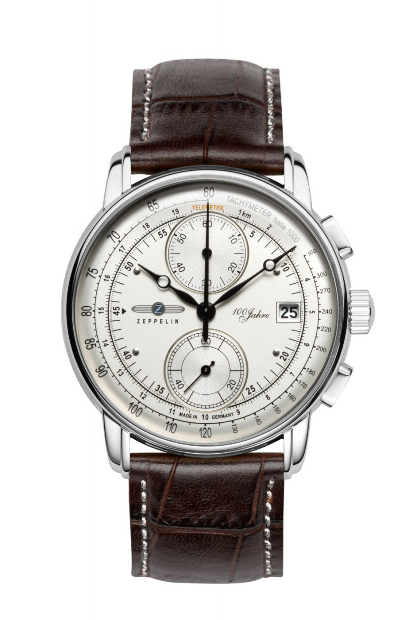 HAU, Zeppelin 100 Jahre Chrono Cal. 6S11 Steelcase wr 5atm, MineralglasK1