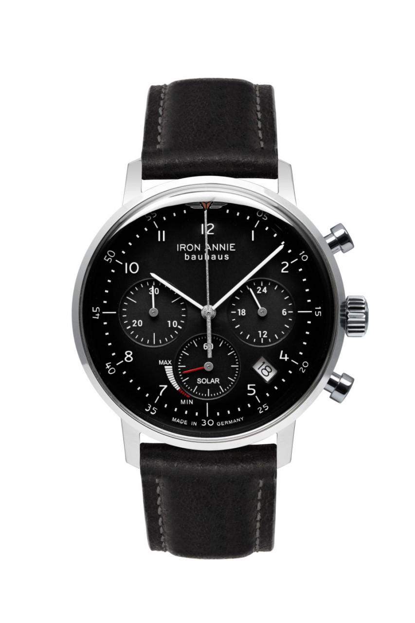 HAU, Iron Annie Bauhaus Chronograph Solar, Epson-Seiko VR42, 5atm