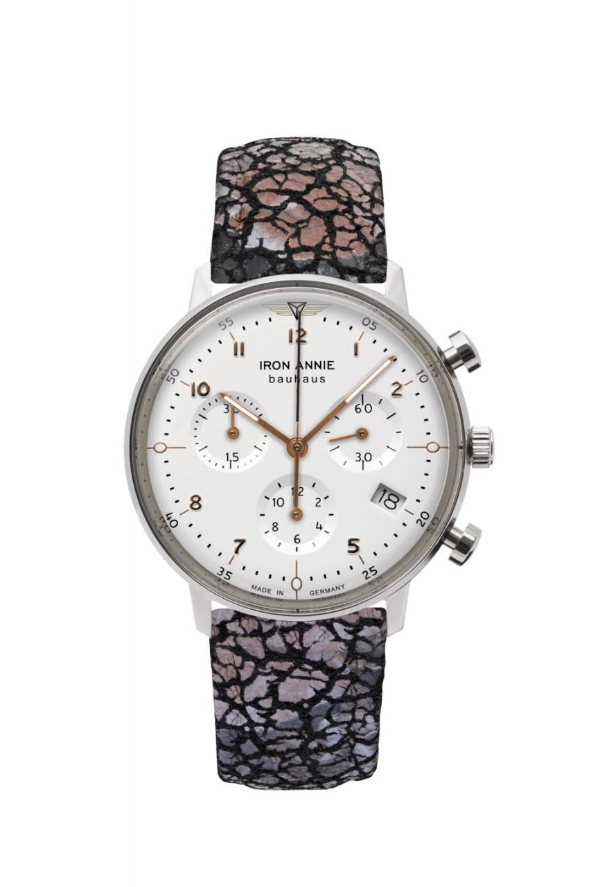 DAU, Iron Annie Bauhaus Chronograph Ronda 5030.D, Steelcase 36mm, wr 3atm