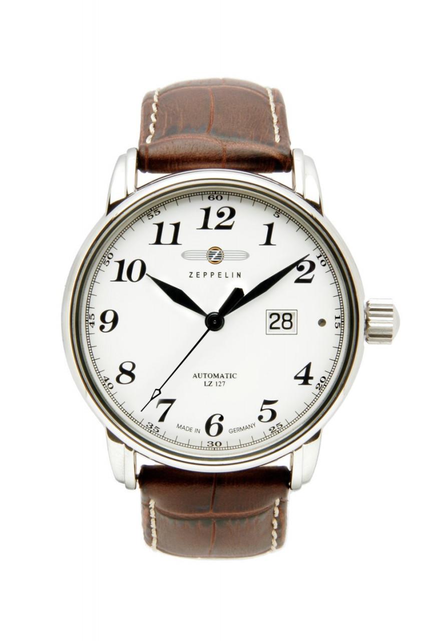 HAU, Zeppelin LZ-127 Chronometer BigDate ETA 2826,Steelcase wr 5atm, Saphirglas