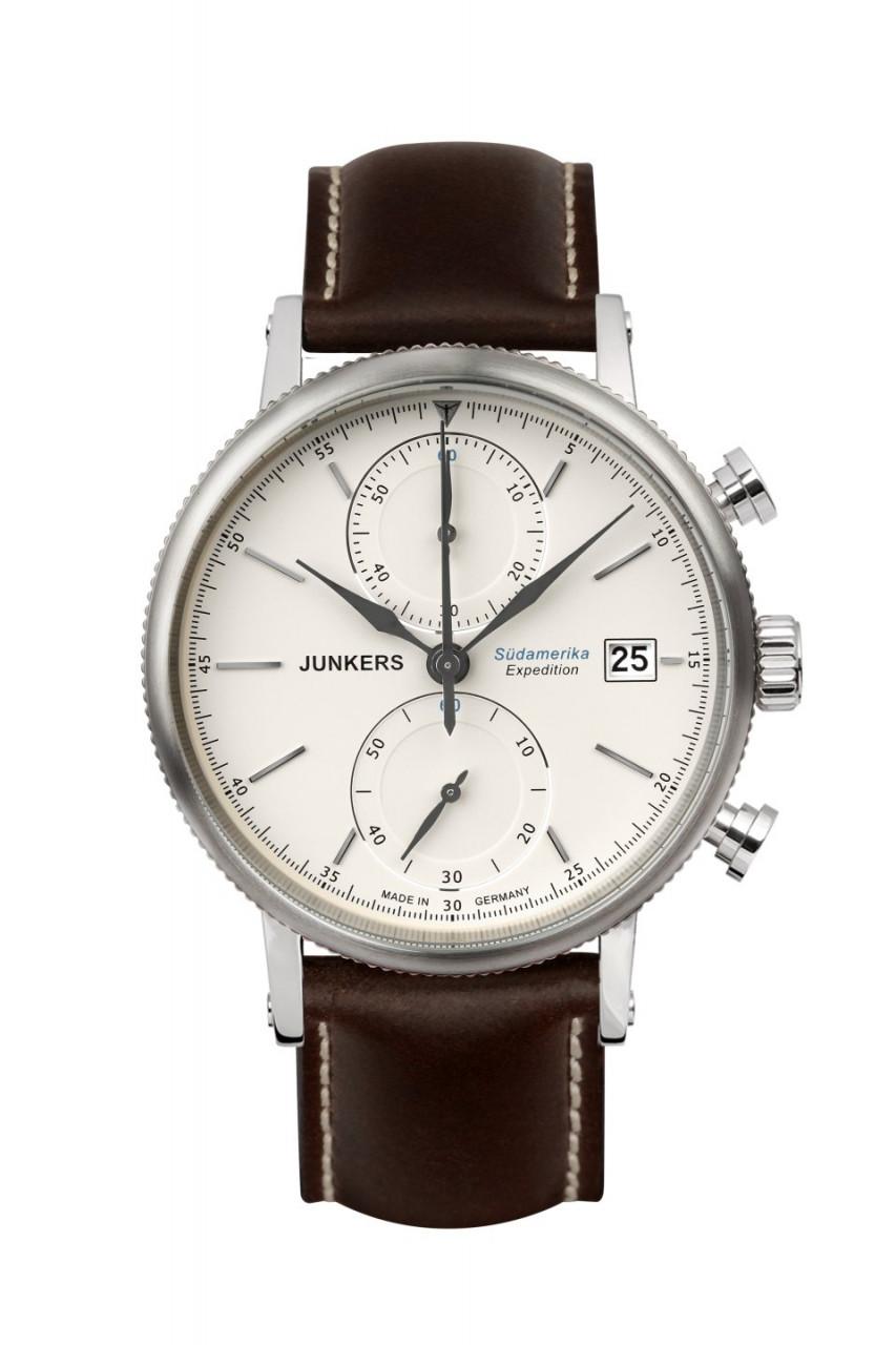 HAU, Junkers Südamerika Citizen 6S11 Chronograph, Edelstahlgehäuse wr 5 atm