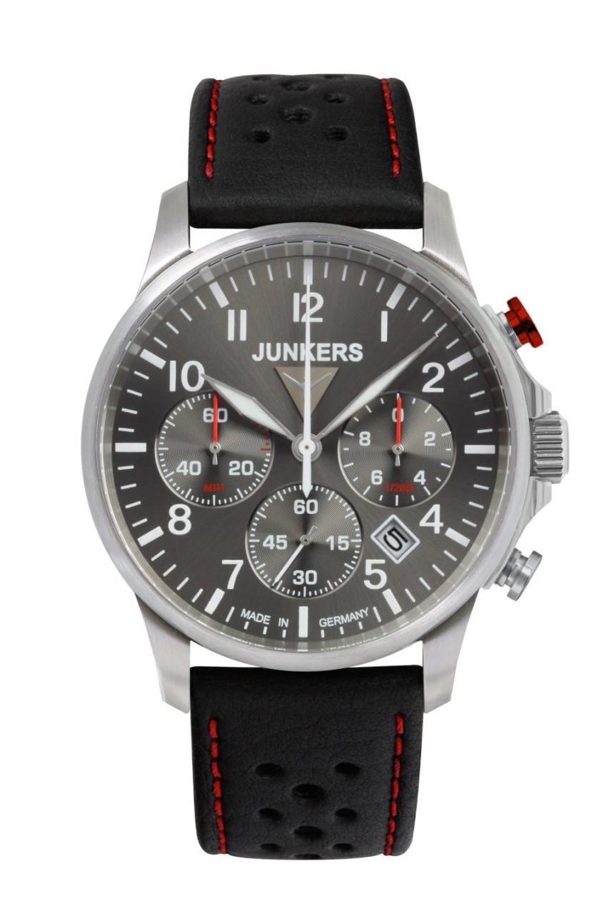 HAU, Junkers Tante JU Chronograph 6S20 Citizen Chronograph 6S20, Steelcase wr 10 atm